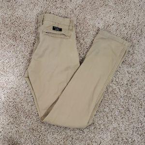 Armani Exchange sz 28R skinny khaki pants